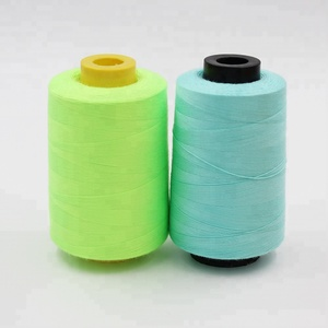 2018 High Quality Embroidery Cotton Yarn Core Spun Polyester Sewing Thread