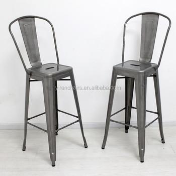 Marais Chair High Back Bar Chair Bar Stools Vintage