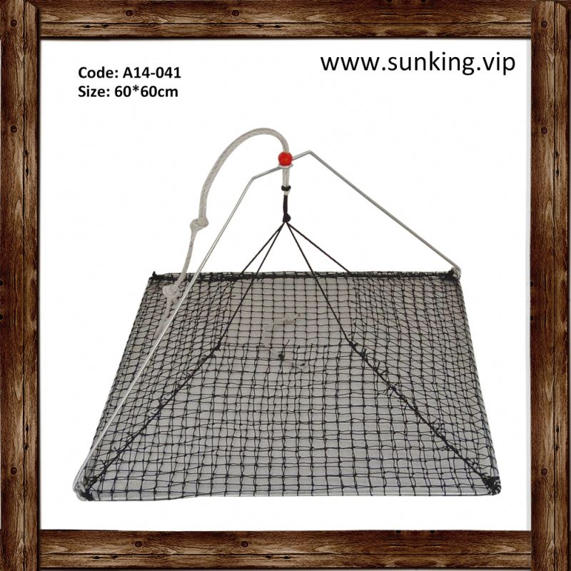 Best Selling Products deep sea crab/lobster/fish trap pvc welded mesh fishing net