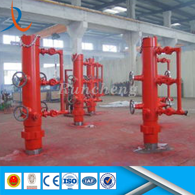 Factory price oil cementing tool single or doule ploug casing cement head