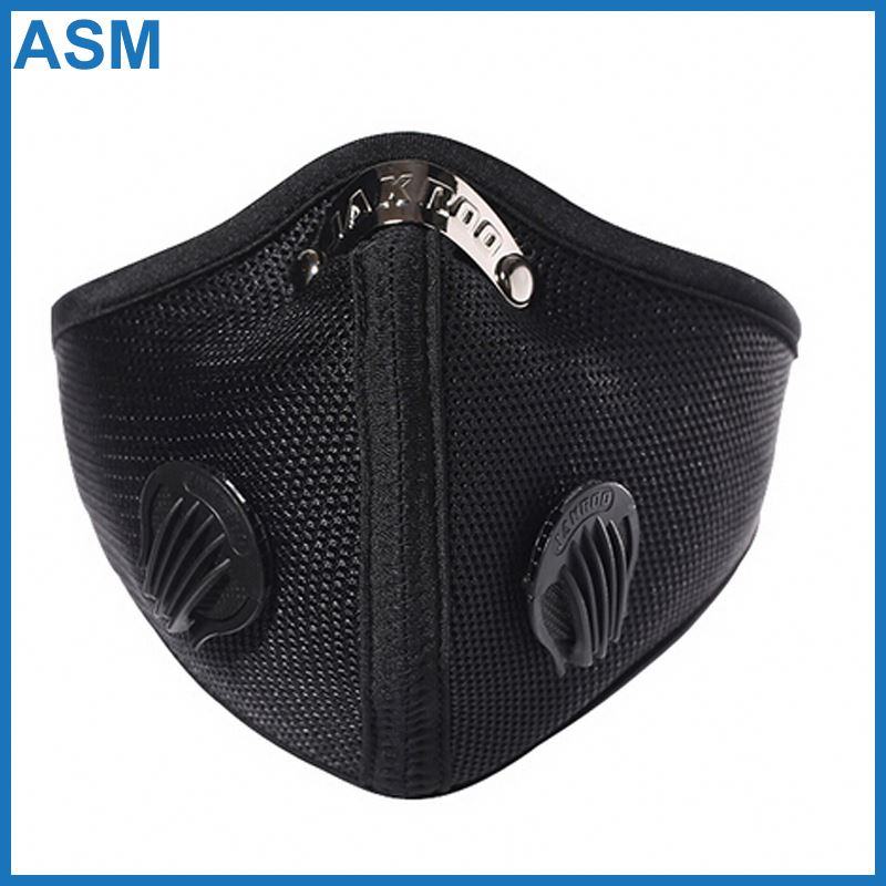 cycling dust mask , carbon 4 ply face mask