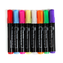liquid chalk marker (waterbase and Non-toxic ) - NEW REVERSIBLE TIP - Chalkboard Paint Pen 8 Pack - Use Chisel Tip or Round Tip