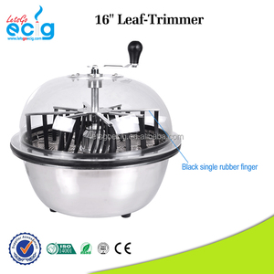 Hight Quality Hydroponic Automatic Leaf Trimmer Stainless Steel Bowl Tumble Trimmer