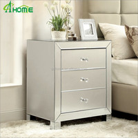Modern cute living room mirror bedside /nighstand /side table