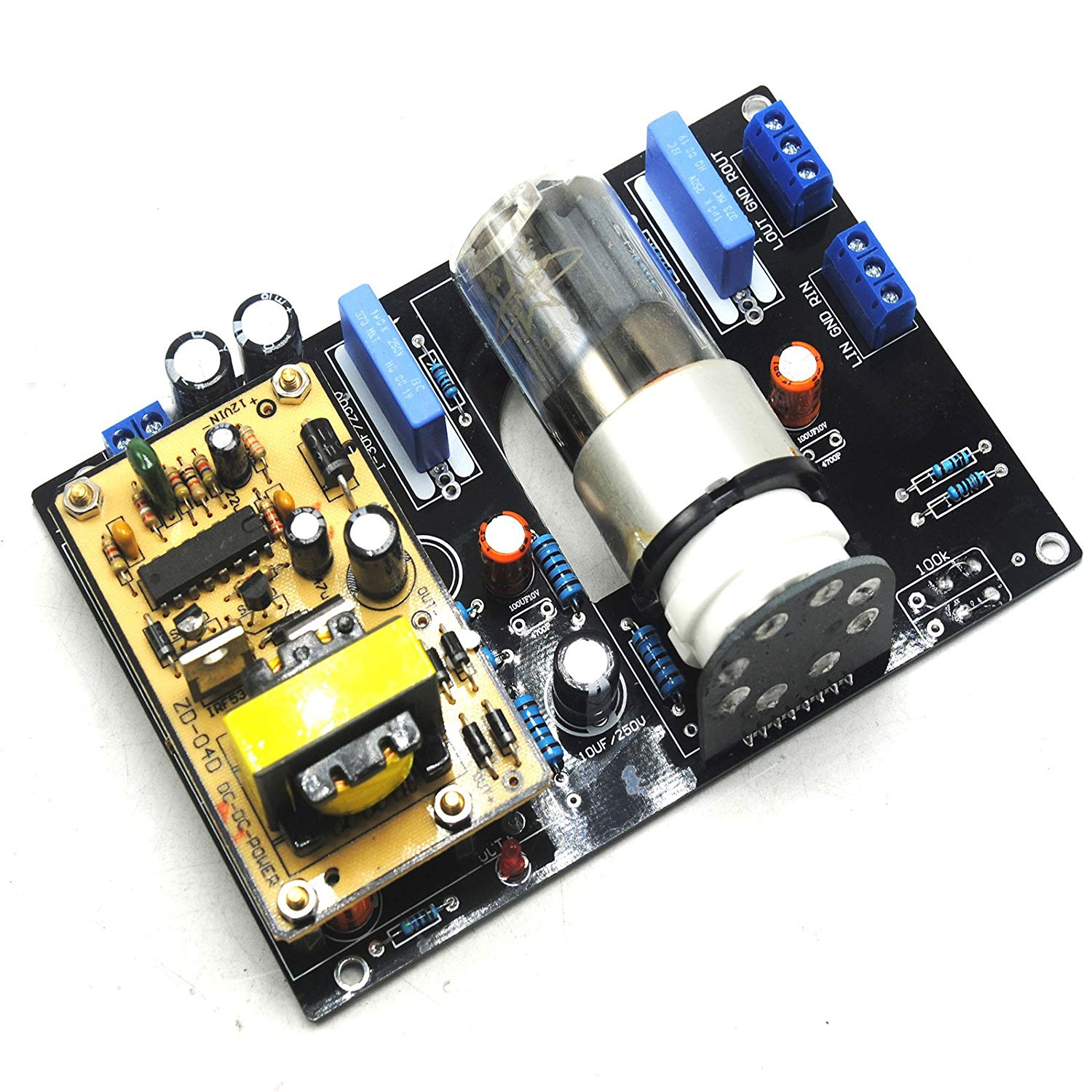 Cheap Car Audio Preamplifier Find Deals On Preamp Module Volume Control Amplifier Headphone Board Diy Get Quotations Dc12v 6n8p 6h8c 6sn7 Tube Valve Pre Amp