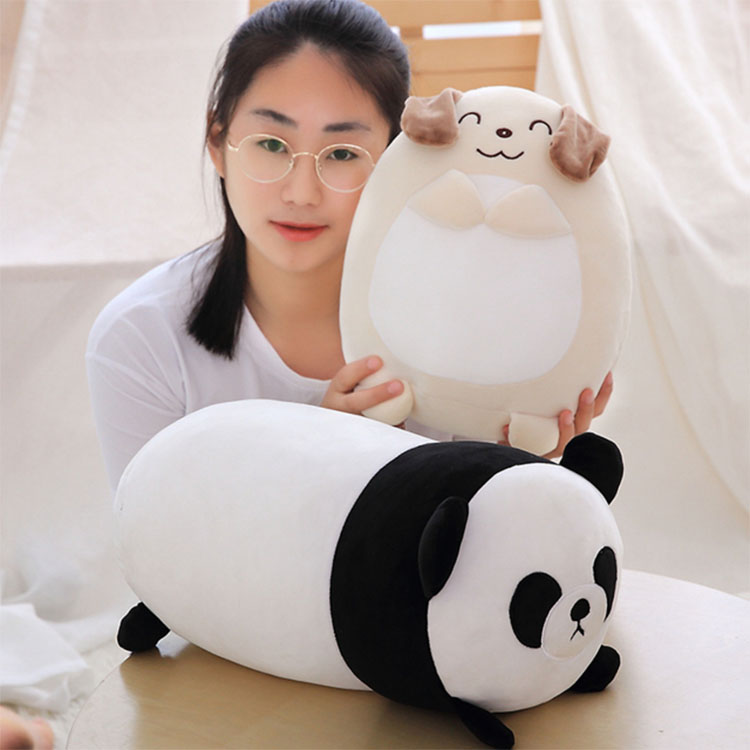 Wholesale Plush Panda Bear Adorable Panda Plush Toy Animal Custom Plush Stuffed dog Educational Toys For Kids Gift Giant bear
