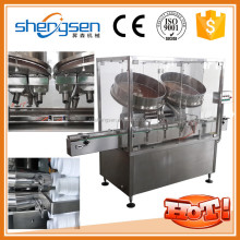 Double plate pill tablet counter machine