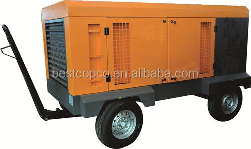 Mobile Diesel Engine For Sale Mini Screw Air Compressor