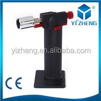 Professional Welding torch lighter Cooking Hand Metal GUN GAS Lighter 1300 c jet flame GAS torch YZ-016