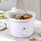 Soup Design Chinese Kitchen Appliance New 2.5 Litre Sear And Stew Crockpot Mini 2.7 Quart Round Manual Slow Cooker