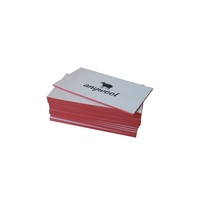Custom Color Edge Printing 600gsm Cotton Paper Letterpress Business Cards