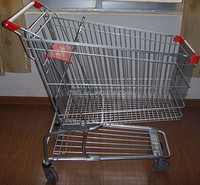 Hot Sale 100L RH-SM100 American Style Grocery Shopping trolley cart