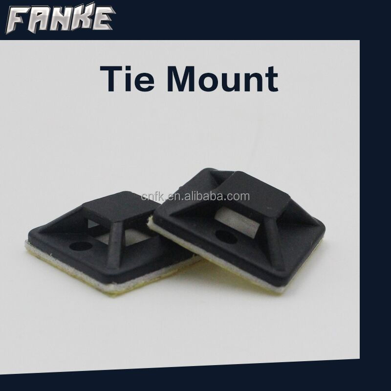 19*19mm plastic wire clip