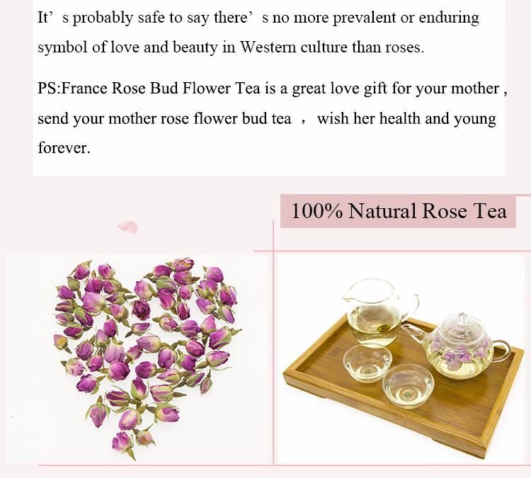 Health Herbal Tea France Rose Flower Tea - Buy Rose Flower Tea ...