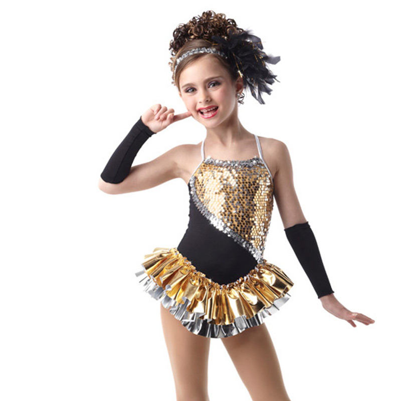 665056effd816 Girls Women Metallic Gold Sequin Latin Dance Dress Fashionable Performance  Costume C315-in Latin from Novelty & Special Use on Aliexpress.com |  Alibaba ...