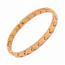 Men fashion jewelry 316l stainless steel gold bangle cuff bracelet