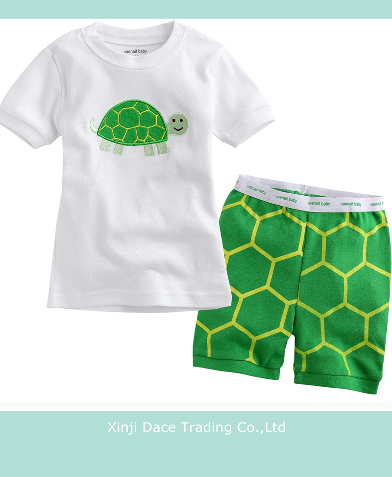 Chinese clothing manufacturers pretty kids home wear for summer