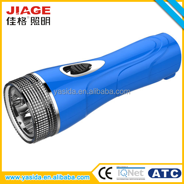 Unbreakable ABS rechargeable led flash lighter torch for OEM