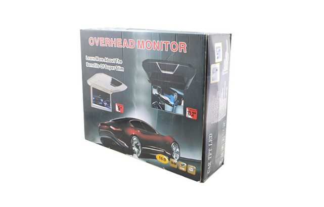 NEW design 9'' car monitor Roof Mounted LCD car monitor with av input