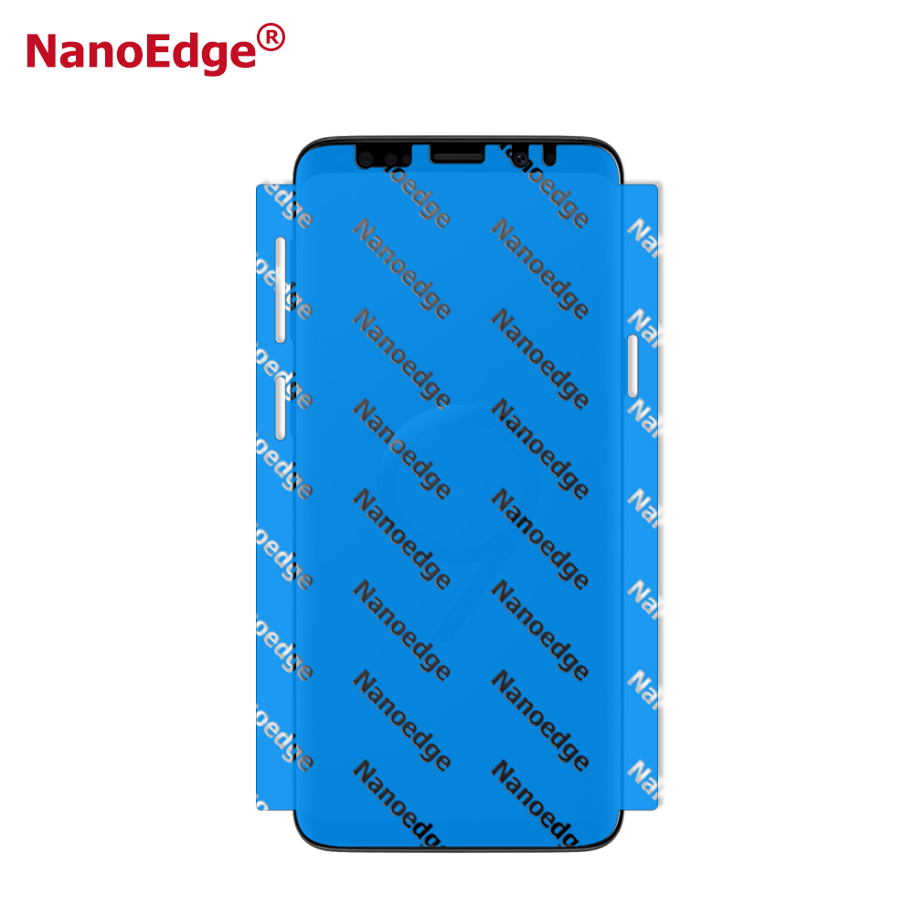 New Products 5D Full Screen Cover Blue Film TPU S8 Screen Protector for Samsung S9 Note 9 Mobile Phone
