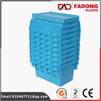 Different designs and sizes of warehouse plastic logistics container in high performance