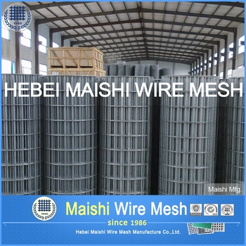 Thick Zinc Coating Welded Wire Mesh and Fabric for fish pots