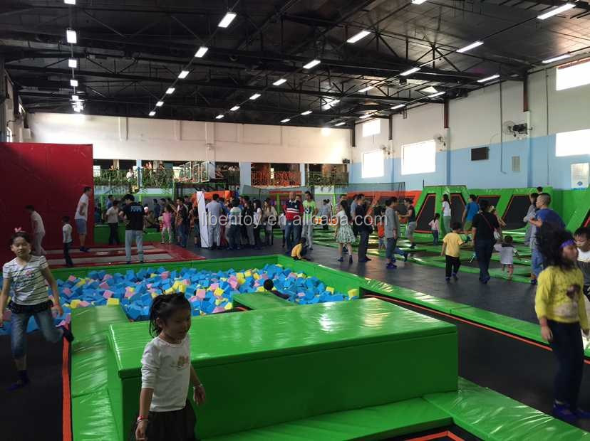 business plan for indoor trampoline park