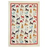 100% cotton Funny animal design wholesale cleaning cotton tea towel