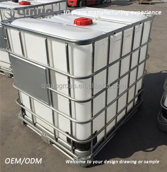 Plastic Ibc Tank 1000l For Chemicals