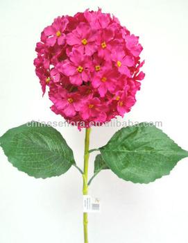 Wholesale Hot Sale Fuschia Hydrangea Silk Flowers Buy Fuschia