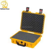 Ningbo factory heavy duty hard IP67 waterproof shockproof plastic protective case with foam