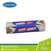 Goldshine disposable aluminum foil paper for food packaging