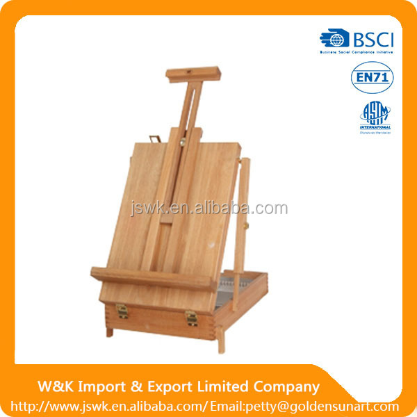 Trustworthy China Supplier French Box Easel