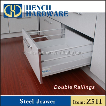 telescopic channel kitchen cabinet metal drawers - buy kitchen