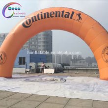 inflatable tyre arch for advertisement