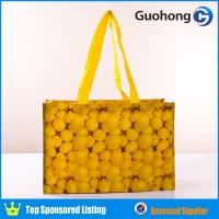 China supplier wholesale cheap pp woven eco shopping bag for beans