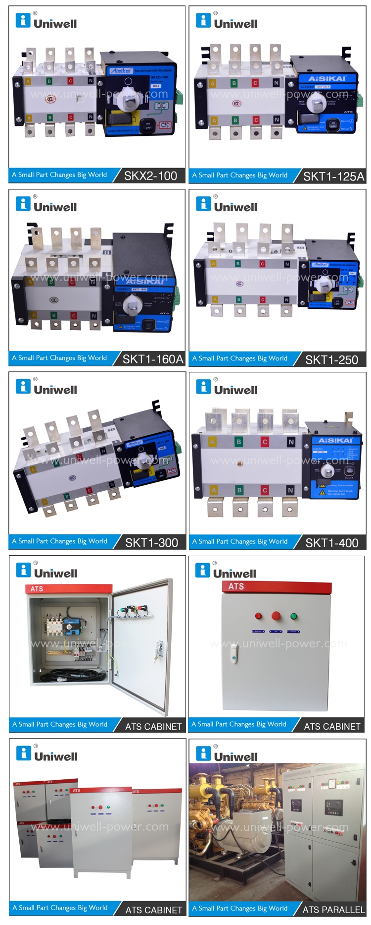 Generator Ats Controller Automatic Transfer Switch 100a View For