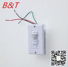 2017 new style wall pir sensor switch