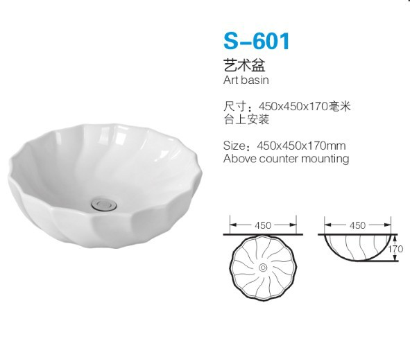 Above Counter Special Modern Design Wash Art Basin Sink,Wash Basin ...
