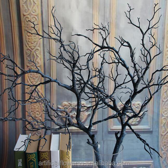 Fake dry tree branch christmas decoration
