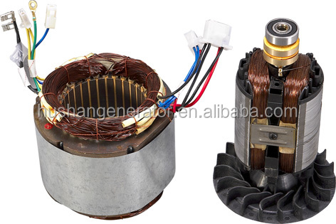 LingBen Gasoline Generator Spare Parts Of Stator and Rotor