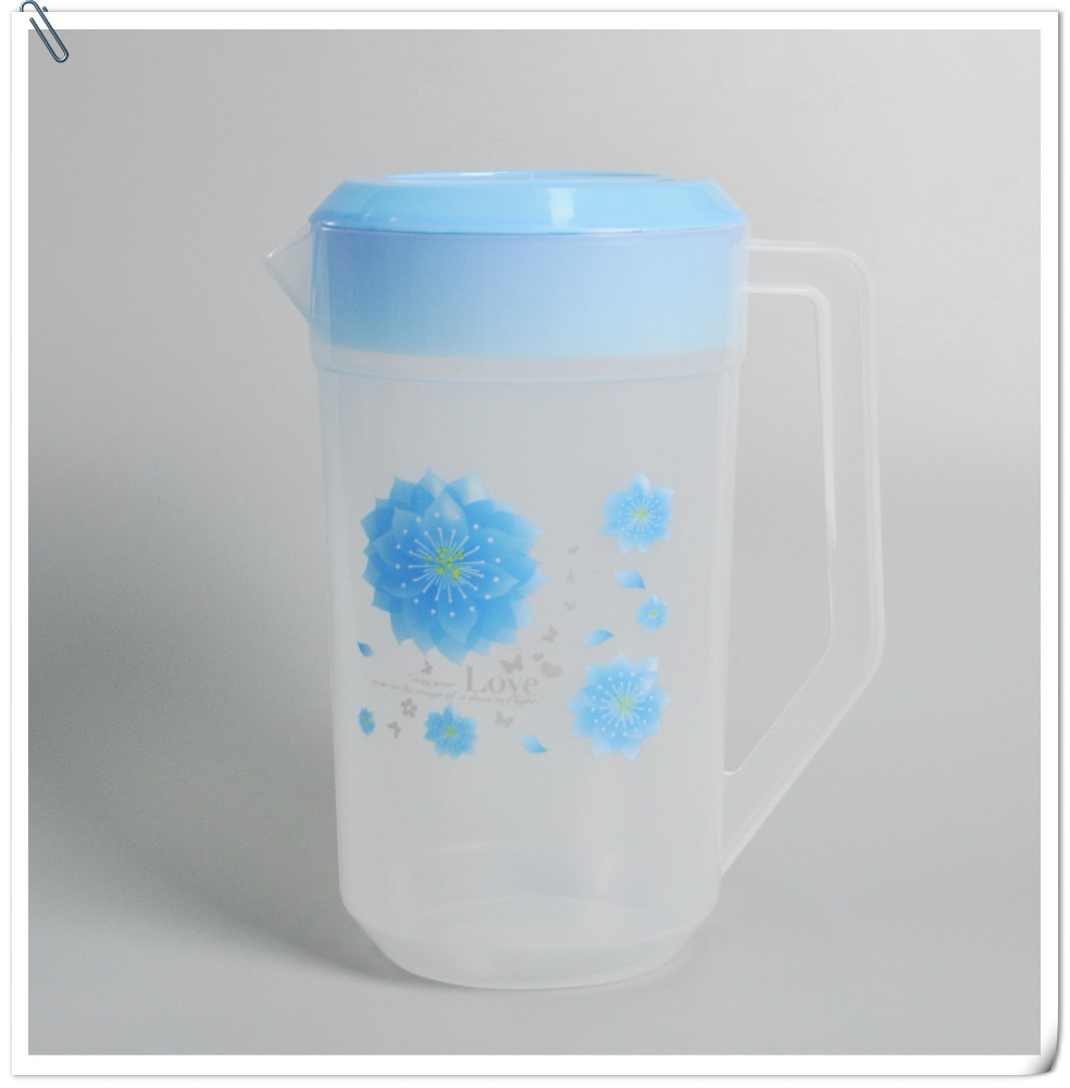 Wholesale cheap 0.5 us gallon plastic water jug with lid and side handle