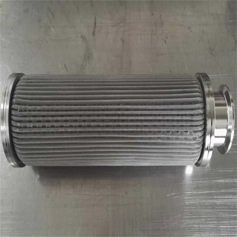 Porous Metal Fiber Medium Gas Filter