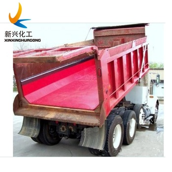 Uhmwpe Truck Bed Lining Truck Liner Coal Bin Liner Uhmw