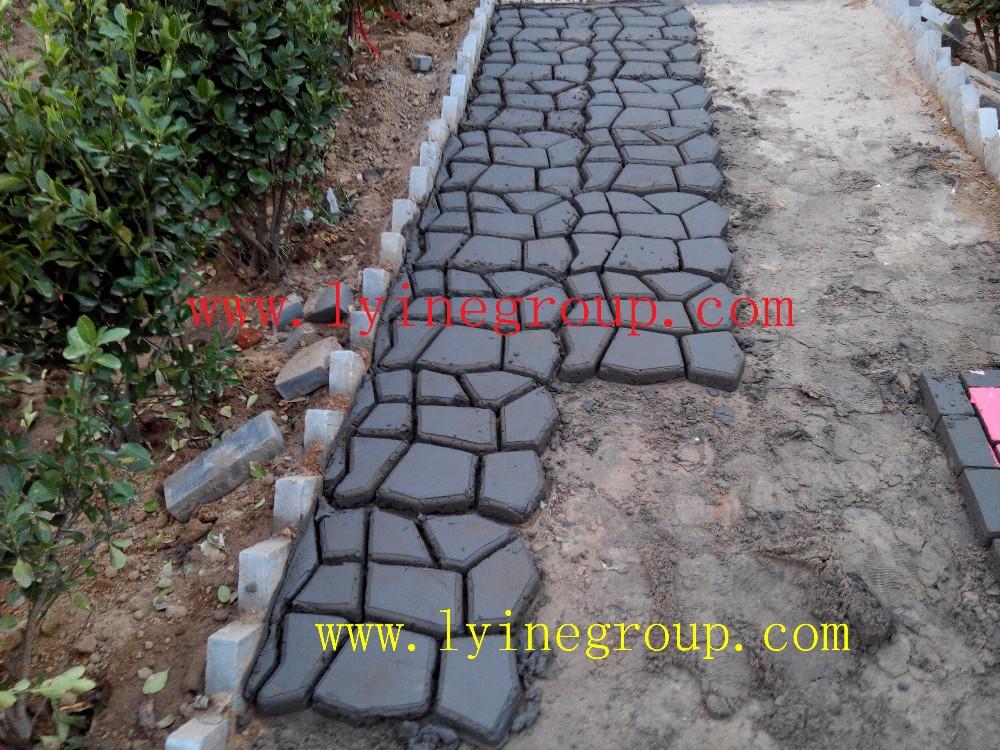 DIY Driveway Paving Pavement Stone Mold Concrete Step Pathmate Maker Mould Paver