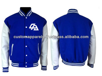 Varsity College Baseball Jacket With Your Own Design - Buy Varsity ...