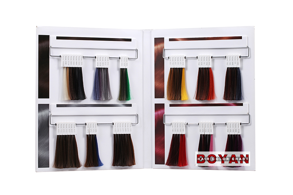 China Supplier Italy Hair Color Chart Oem Top Quality Hair Color