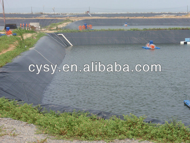 1mm 2mm 3mm smooth surface hdpe plastic waterproof for Design of farm pond pdf