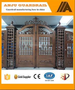 AJLY 612 Alibaba Supplier House Main/entrance Gate Design For House/villa