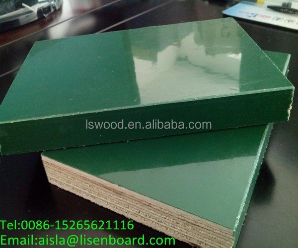 Brown Laminated Shuttering Plywood for concrete form work,construction wood laminated with plastic for formwork